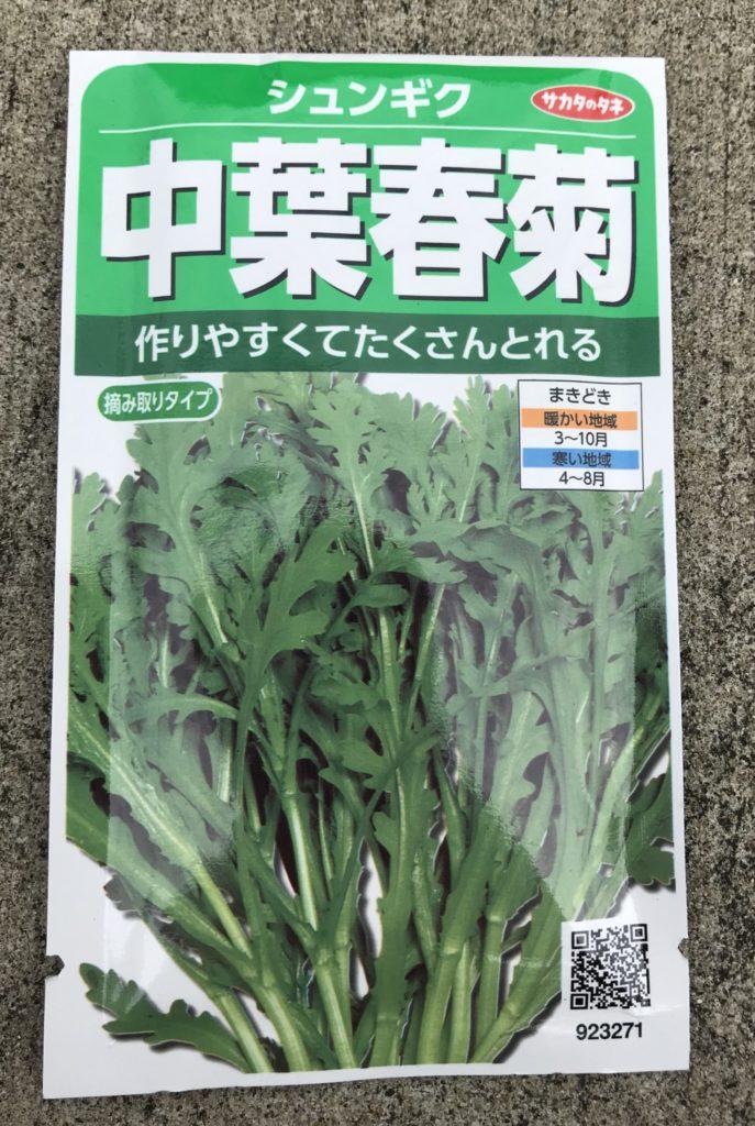 中葉春菊の種